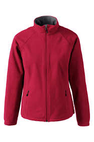 School Uniform Women's Plus Size Marinac Fleece Jacket