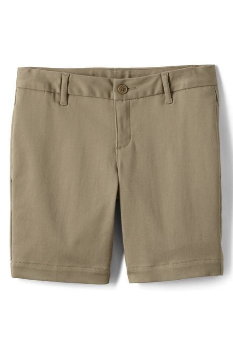Little Girls Stain Resistant Chino Shorts