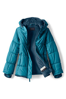 Girls' Insulated Puffer Jacket
