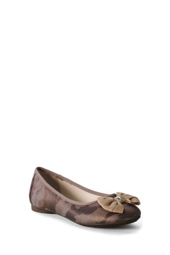 Girls' Claire Bow Ballet Shoes