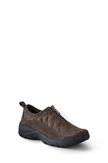 Women's Quilted Zip-front Shoes