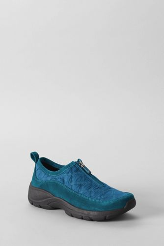 Women's Regular Quilted Zip-front Shoes