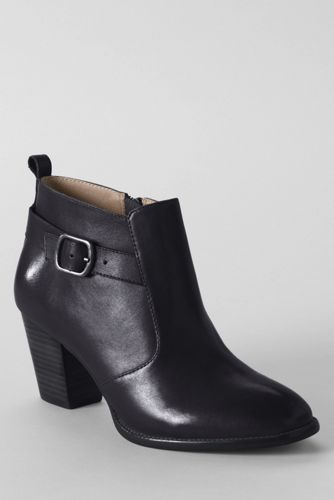 Women's Regular Tory Buckle Ankle Boots
