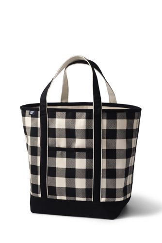 Sac Canvas Ouvert, Taille Large