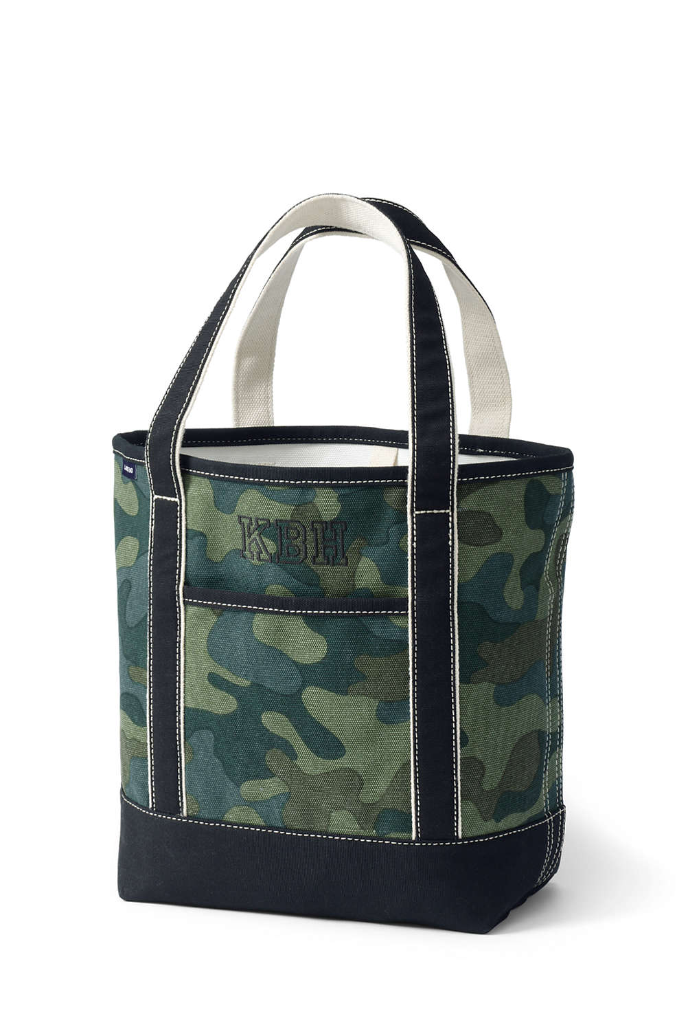 5f4ea340da2f Print Canvas Tote Bag from Lands  End