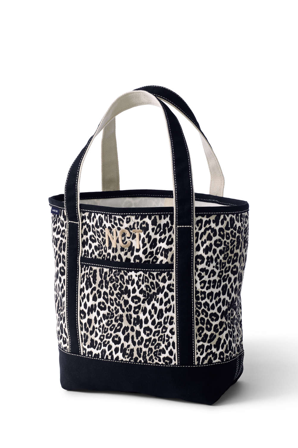 print canvas tote bag from lands end
