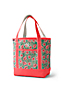 Print Medium Open Top Canvas Tote Bag