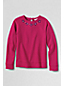 Girls' Rhinestone Loopback Jersey Sweatshirt