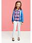 Gefärbte schmale Jeans für große Mädchen