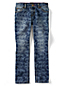 Little Girls' Patterned Pencil Leg Jeans