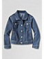 Little Girls' Dot Print Denim Jacket