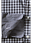 Men's Regular Pattern Blocked Poplin Shirt