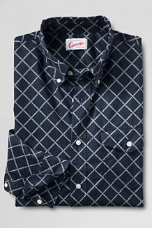Men's Printed Cotton Shirt