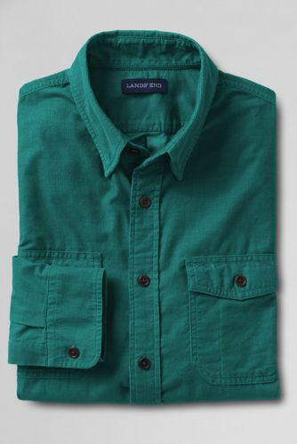 Men's Regular Traditional Cord Shirt