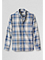 Men's Regular Plaid Chambray Shirt