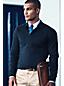 Men's Regular Fine Gauge Polo Sweater