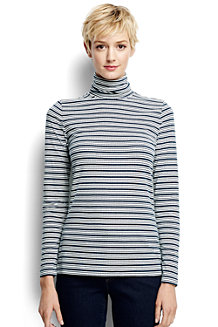 Women's Cotton Modal Roll Neck