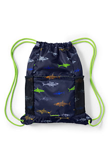 Boys' Camo Print Drawstring Gym Bag