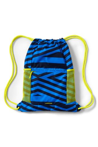 Kids' Print Packable Drawstring Bag