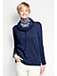 Women's Petite Cowl Neck Sweatshirt