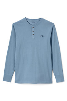 Men's Henley Pyjama T-shirt