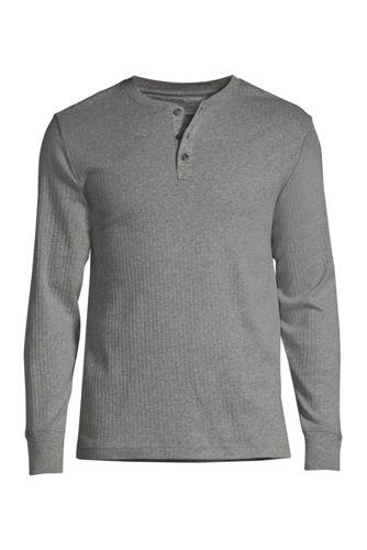Men's Knit Rib Pajama Henley