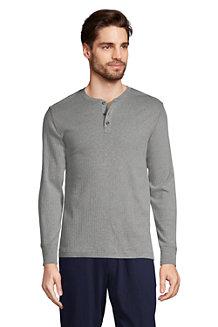 Men's Henley Pyjama T-shirt
