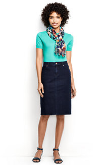 Women's 5-Pocket Denim Skirt