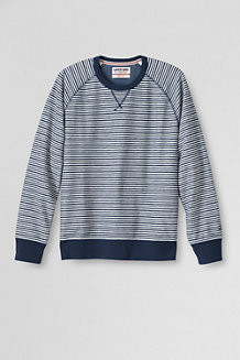 Men's Striped French Terry Sweatshirt