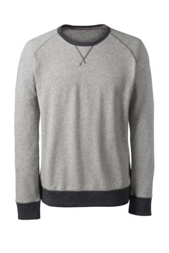 French Terry-Sweater für Herren