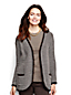 Women's Regular Terry Boyfriend Cardigan