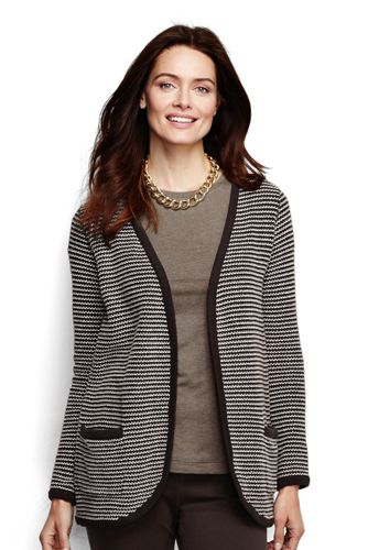 French Terry Boyfriend-Cardigan für Damen