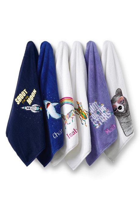 Kids Applique Bath Towel