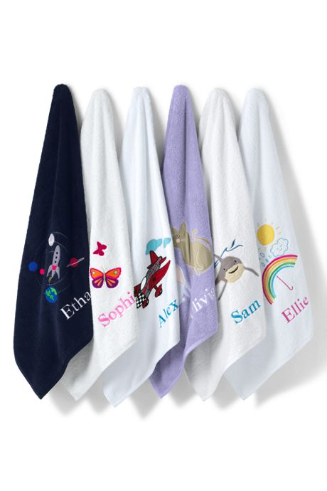 Kids Applique Towel