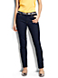 Women's Regular Low Rise Dark Indigo Wash Slim Leg Jeans