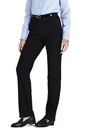 Lands' End Women's High Rise Straight Leg Jeans