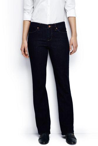 Dark Rinse Bootcut-Jeans für Damen