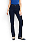 Women's Regular Dark Indigo High Rise Straight Leg Jeans