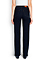 Women's Regular Dark Indigo High Rise Straight Leg Jeans