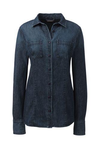 Jeans-Bluse für Damen