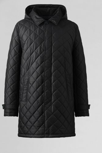 Men's Regular Quilted Commuter Coat
