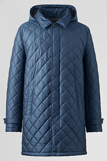 Men's Quilted Commuter Coat