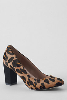 Women's Minnie Leopard Print High Heel Shoes