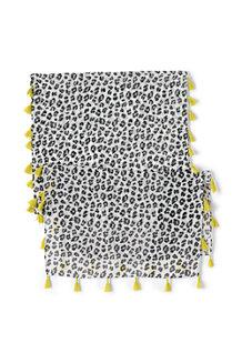 Quasten-Schal für Mädchen