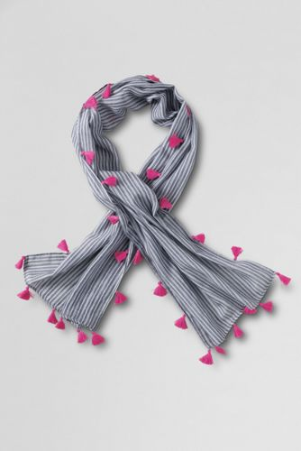 Girls' Tassel Scarf