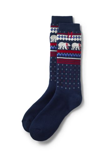 Women's Thermaskin Rib Marl Crew Socks