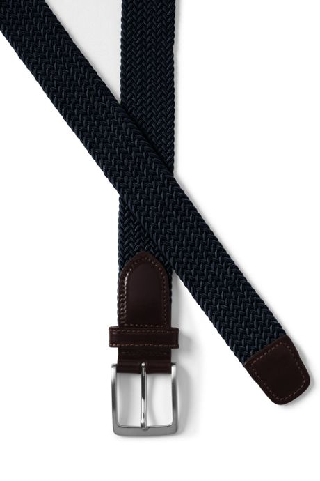 Men's Elastic Braid Belt