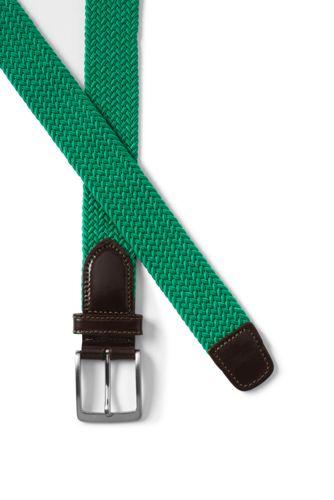 Men's Elastic Braid Belt
