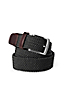Men's Regular Plaited Elastic Belt
