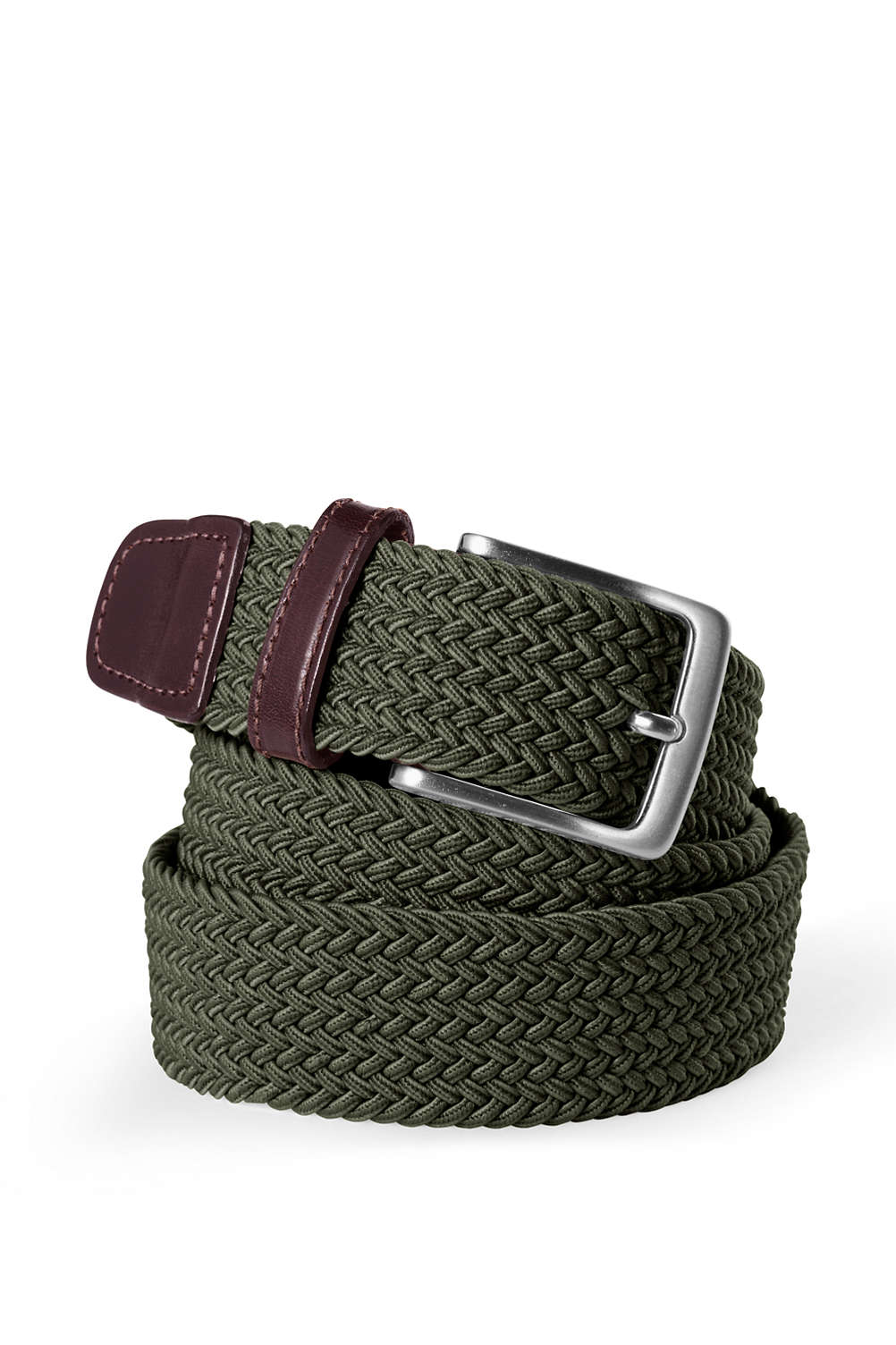 87256f6d6c9cf Men's Elastic Braid Belt from Lands' End